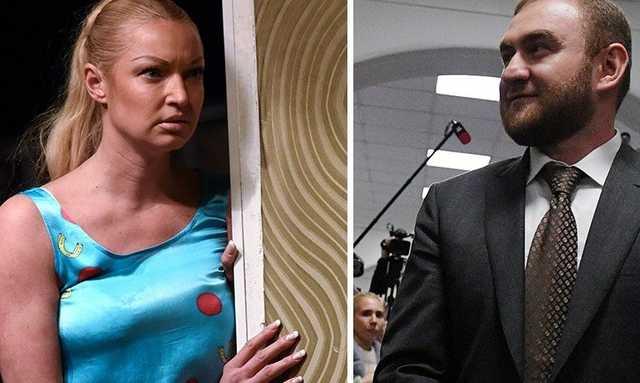 Волочкова ответила на стихотворение о ее интимной связи с сенатором Арашуковым