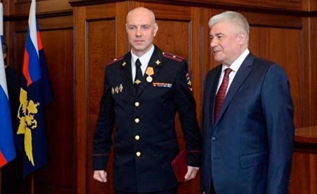 В Калининграде в пытках подозревается полицейский, награжденный главой МВД РФ