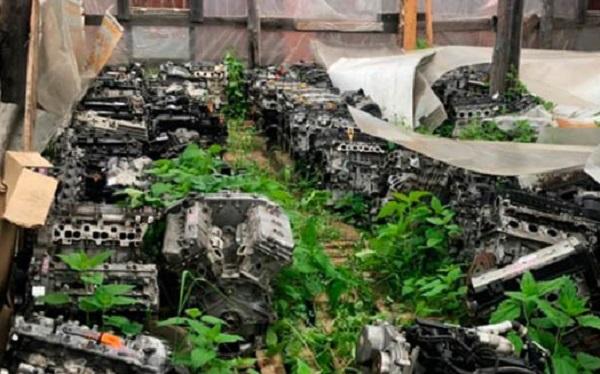 212 двигателей от «Мерседесов» «БМВ»: Полицейские Петербурга провели обыск у угонщика