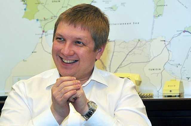 "Глава ""Нафтогаза"" Андрей Коболев заработал за год 286,5 млн"