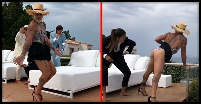 «Танцующий миллионер» Джанлука Вакки огорошил подписчиков новым танцем